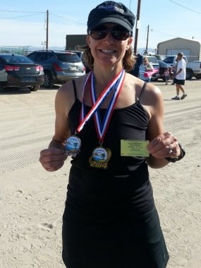 3rd Place Age Group Win Laughlin Half Marthon 2014