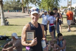 3rd Place Age Group HITS Half Distance Tri 70.3 Win 2013