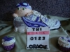 Baby Triathlete Running Shoe Cake