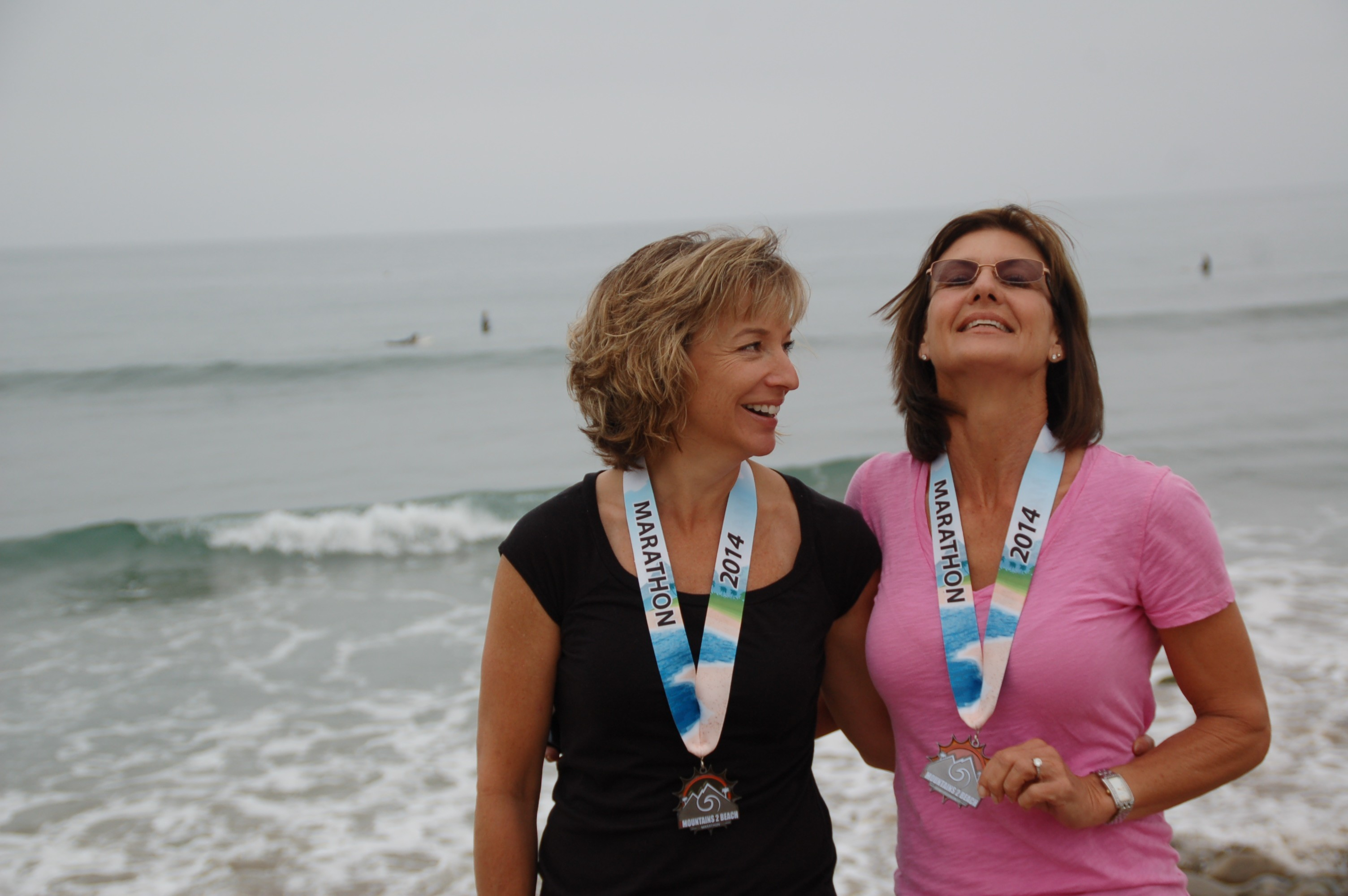 Mountains to Beach Marathon 2014