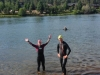 Swimming the Deschutes July